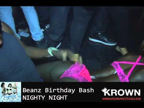 NIGHTY NIGHT XS NITECLUB BEANZ BDAY BASH
