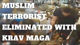 Krav Maga Expert, Kfir Itzhaki, Defeats Knife-Wielding Arab Terrorist In Israel