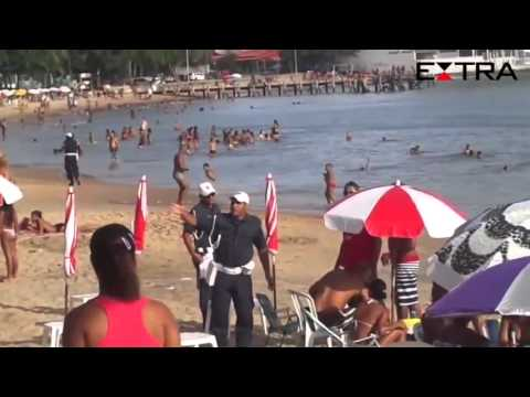 Rio das Ostras Mulher que transou na praia IMAGENS INÉDITAS