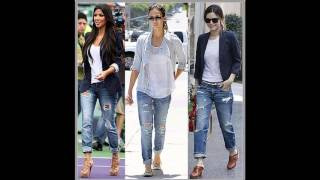 Outfits con jeans y tenis