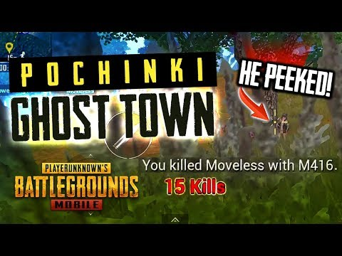 POCHINKI IS ABANDONED Ghillie Suit AWM M416 PUBG Mobile