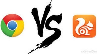 GOOGLE CHROME VS UC BROWSER || SPEED TEST , REVIEW