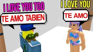 GOING UNDERCOVER AS A SPANISH ONLINE DATER (Roblox)