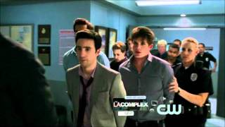 Annie and Caleb - The police station - 90210 - 4x23