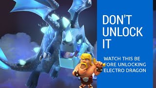 HE UNLOCKED ELECTRO DRAGON AND THIS HAPPENED !! Clash of Clans