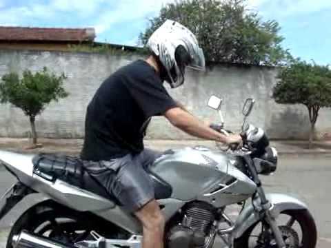 Andando de moto pela primeira vez