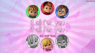 REBOOT | The Chipmunks and Chipettes - All For You (with lyrics)