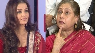 Does Aishwarya Rai Bachchan need a mouth piece?