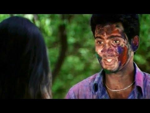 Holi Scene - Kiran Propses I Love U To Sandhya - Uday Kiran,  Richa Pallod - HD