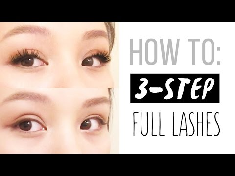 Xxx Mp4 💖HOW TO 3 Step Full Lash Routine 3gp Sex