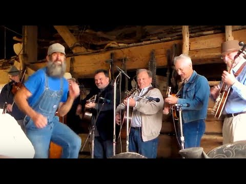 Hilarious Clog Dancer steals the show from Steve Gulley and his band Buck Dancing full video