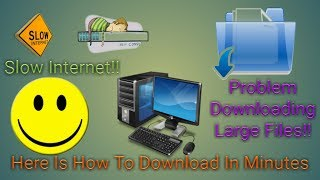 Download Large Files In Slow Internet Using Cloud Download