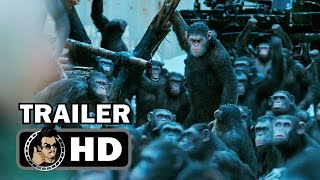 WAR FOR THE PLANET OF THE APES  Final Trailer (2017) Matt Reeves, Andy Serkis
