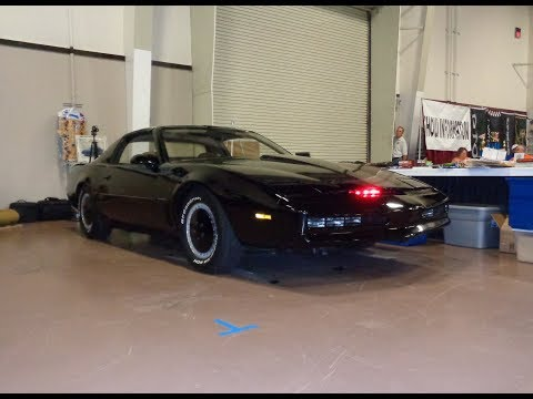Actual TV Show Knight Rider K.I.T.T. 1982 Pontiac Trans Am KITT on My Car Story with Lou Costabile