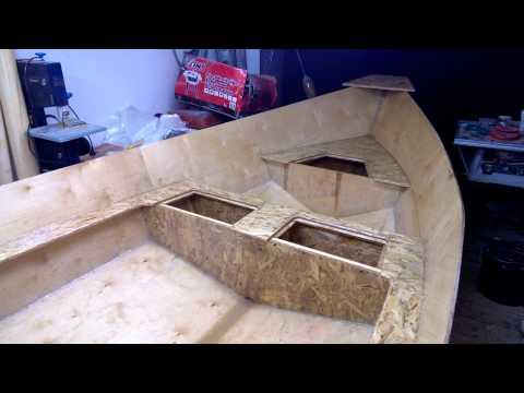 Tango skiff build 1