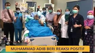 Muhammad Adib Mohd Kassim beri reaksi positif