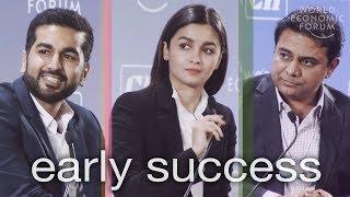 Alia Bhatt, Kavin Mittal, and K.T. Rama Rao Reflect on Early Success