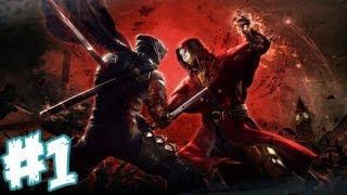 Ninja Gaiden 3 Walkthrough Part 1 - The Foxy Sister (Xbox 360/PS3 Gameplay & Commentary) [HD]