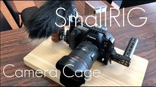 Affordable Quality Camera Cage CANON 5D MARK IV! - Small Rig - Hands on Review