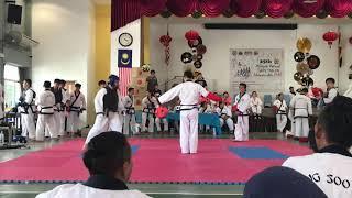 Tang Soo Do National 2018- Jordy Chai vs Jordan Then