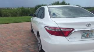 2015 Toyota Camry LE 2.5 full review (startup, exterior, interior)