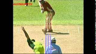 SHABBIR AHMED ball by ball before ICC suspension  2005