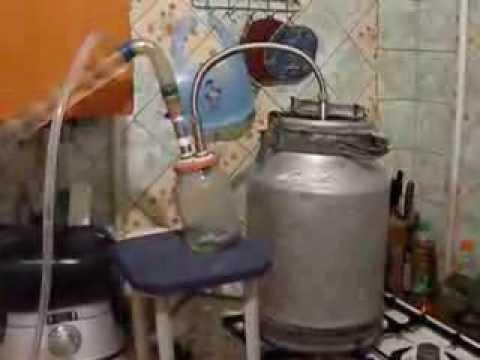 Самогонный аппарат своими руками из бидона