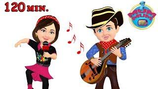 Hokey Pokey Song and Dance & Nursery Rhymes for Children   Wheels On The Bus   Mum Mum TV