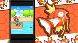 Spring ins Abenteuer mit Pokémon: Karpador Jump!