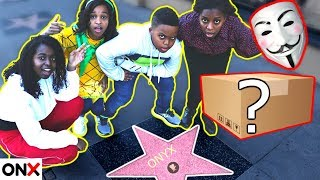 Finding a MYSTERY BOX in Hollywood! Clue Master