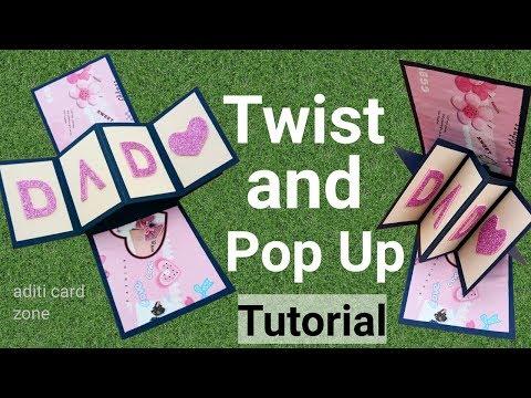 Xxx Mp4 How To Make Twist And Pop Up Card Handmade Birthday Card Tutorial Teacher S Day Card 3gp Sex