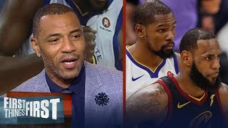 Kenyon Martin on why LeBron is the best player but KD is the best scorer | NBA | FIRST THINGS FIRST