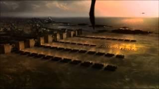 Epic Scene Game of Thrones Season 3 Daenerys Targaryen Unsullied Army (Part 2) (HD)