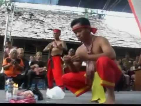 Dayak Borneo KEBAL PANGLIMA Peter John Jaban and Comrade Part I