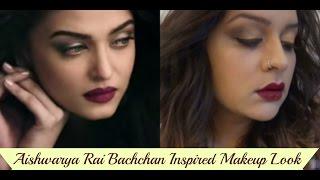 Aishwarya Rai Bachchan Inspired Makeup Look   Bandeyaa Song - Jazbaa