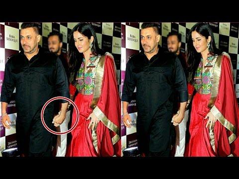 Xxx Mp4 Salman Khan Katrina Kaif Caught Holding Hand At Baba Siddiqui Iftar Party 2016 3gp Sex