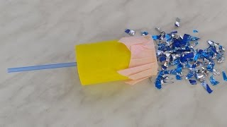 How To Make a Simple Confetti Popper - DIY Home Tutorial - Guidecentral