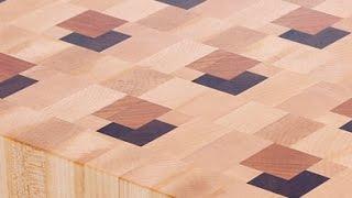 Making a 3D end grain cutting board #7