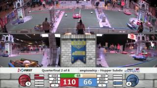 QF2M1   FIRST Championship   Hopper Subdivision