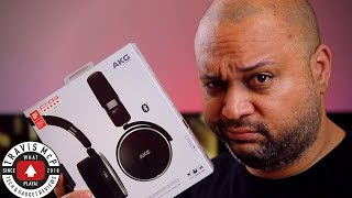 At least they were free - AKG N60 NC Wireless Noise Cancelling headphones