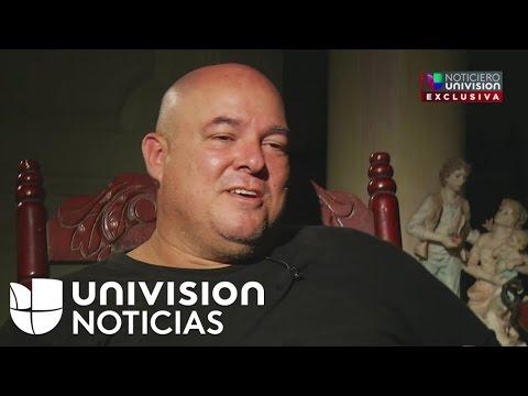 Hijo de Fidel Castro habla para Univision