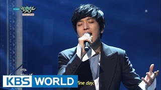 Jung YongHwa - One Fine Day | 정용화 - 어느 멋진 날 [Music Bank HOT Stage / 2015.02.06]