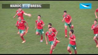 Résumé MAROC vs BRESIL / MONTAIGU U16