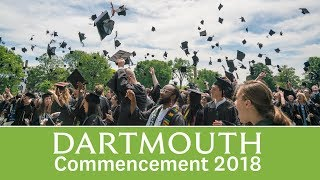 2018 Dartmouth College Commencement Exercises