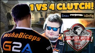 PASHA 1 VS 4 CLUTCH, SNAX SNEAKY BEAKY! Major Krakow: Semifinals Highlights (Best Moments, Clutches)