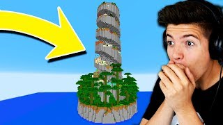 MINECRAFT PARKOUR SPIRAL 2! with PrestonPlayz