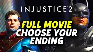 Injustice 2 Story Mode - Full Movie (Choose Your Ending)