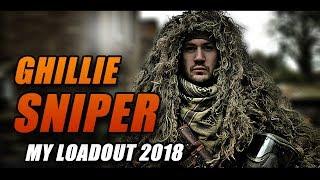 PAINTBALL GHILLIE SNIPER: KIT LOADOUT 2018