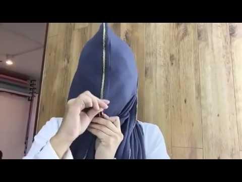 Fesyen: Tudung Berzip Boleh Tutup Keseluruhan Muka