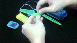 6 In 1 DIY Solar Energy or Battery Powered Educational Robot(item#400-870)